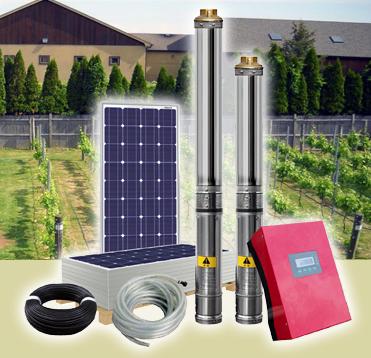 Solarland Solar AC Water Pump System