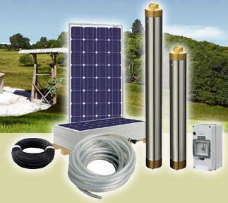 Solarland Solar DC Water Pump System