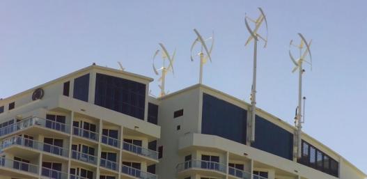 Hilton Wind Turbines
