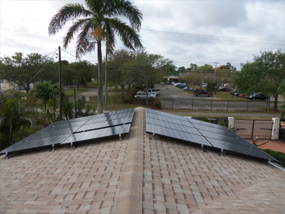 Fort Lauderdale Solar Hot Water PV System Installation