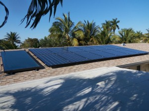 Solar Hot Water PV System