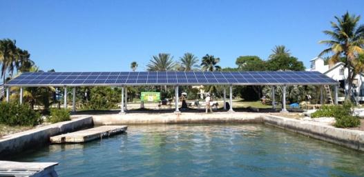 Pigion Key Full Solar PV Array