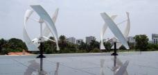 Alton Rd Miami Beach Solar Wind Hybrid System Installation