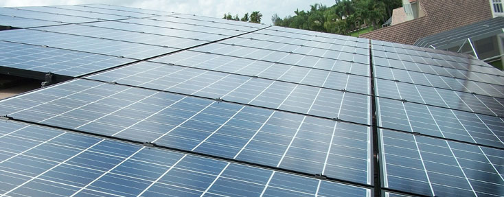 Parkland Solar PV System Installation