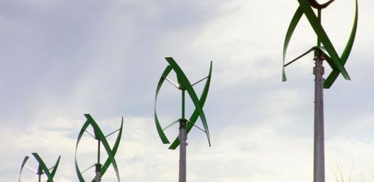 Mills Pond Park Wind Turbines