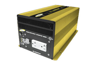 Go Power 2000 Watt 12V Sine Wave Inverter