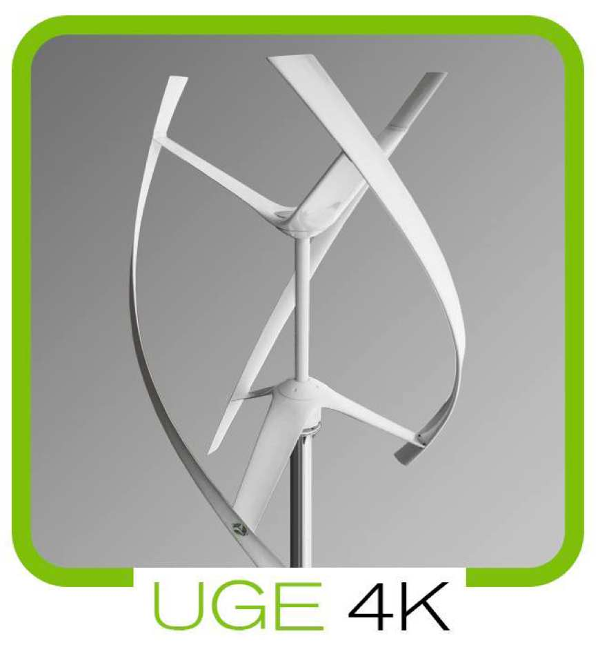 Urban Green Energy 4K Wind Turbine