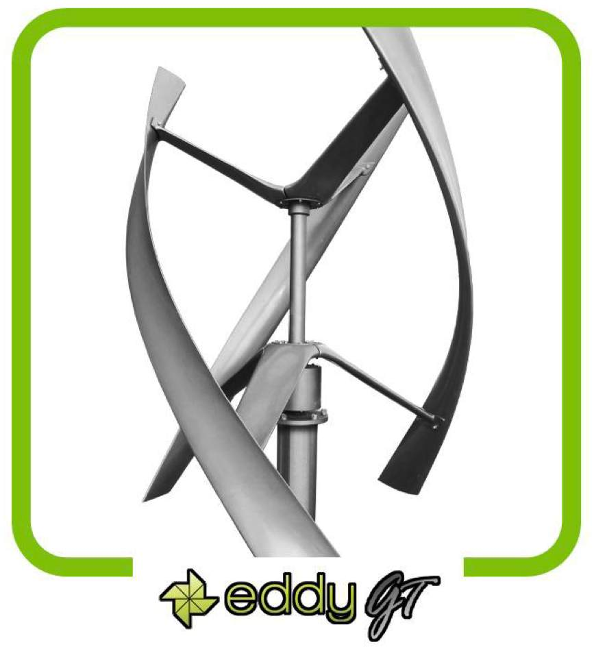 Urban Green eddy GT 1000W Wind Turbine